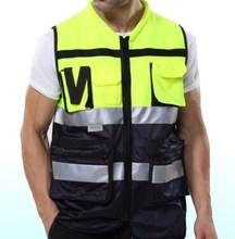 Reflective vest working clothes provides warning safety vest Jacket Security Traffic Construction Uniform For Men 500pcs(China (Mainland))