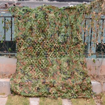 LOOGU Эм 2 м * 3 м Лесной Камуфляж плетения военный Камо Чистая автомобиль-покрытия палатка охота жалюзи камуфляж сетки