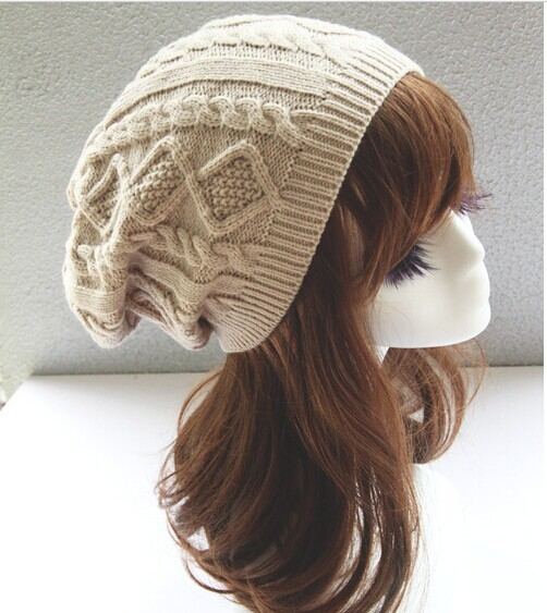 Brand 2015 Fashion Winter Hat Men Beanie Knitted Casual Caps skullies bone Twist Hats For Women Chapeu Feminine Gorro Touca Cap(China (Mainland))