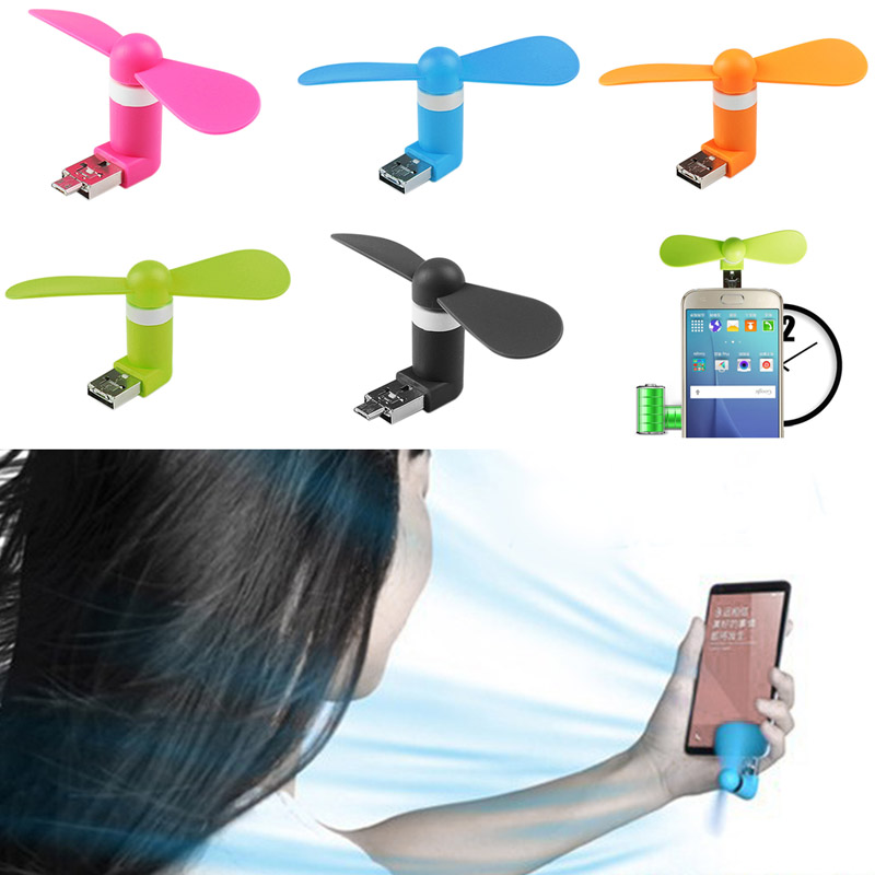 w wholesale phone usb fan