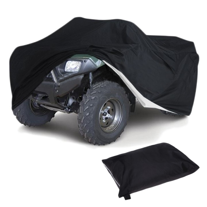 Black Dune buggy Cover Waterproof Car ATV Cover Fit for Yamaha Raptor Suzuki For Polaris US25(China (Mainland))