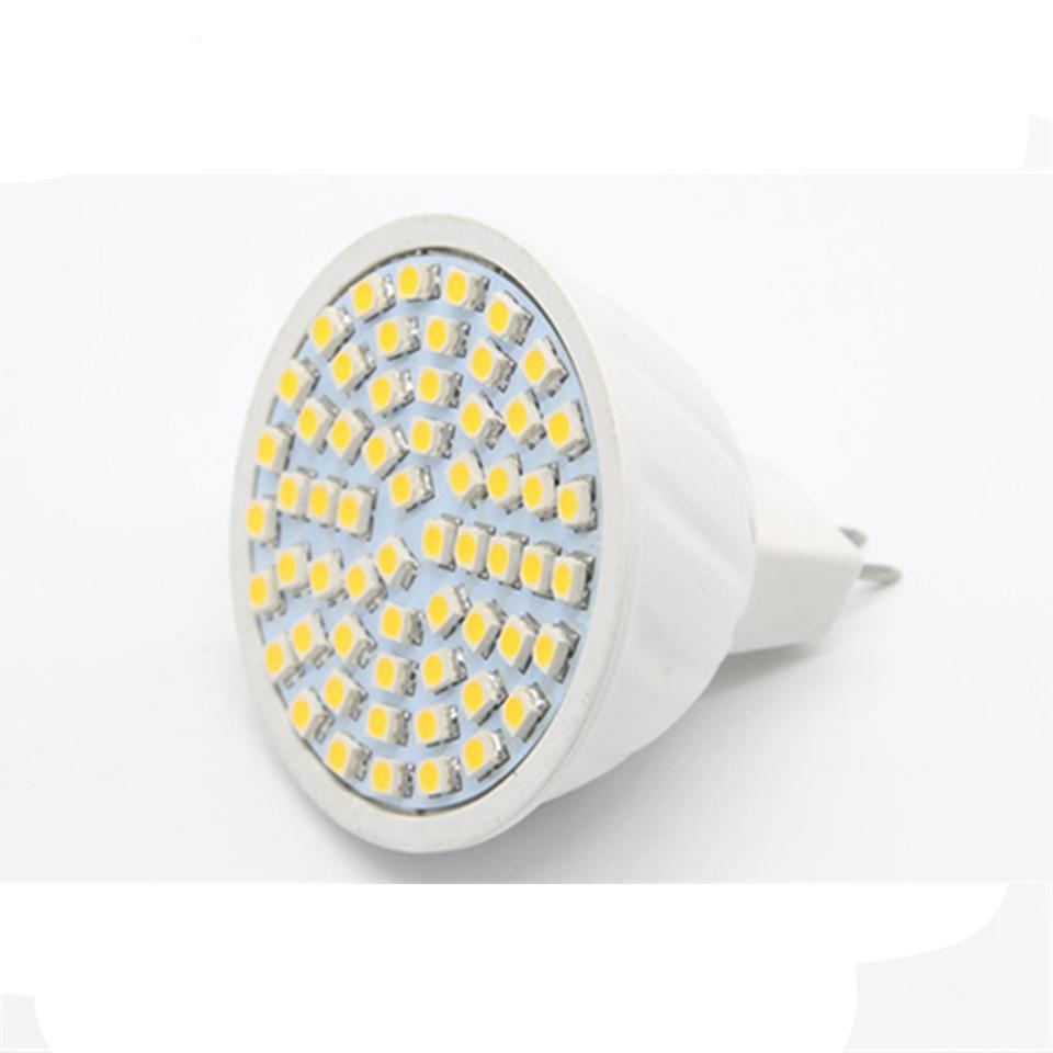 Shenmeile 1pcs new 3w MR16 GU10 E27 LED Cup LED Sportlighting bulb lamp smd2835 220v AC 48leds(China (Mainland))