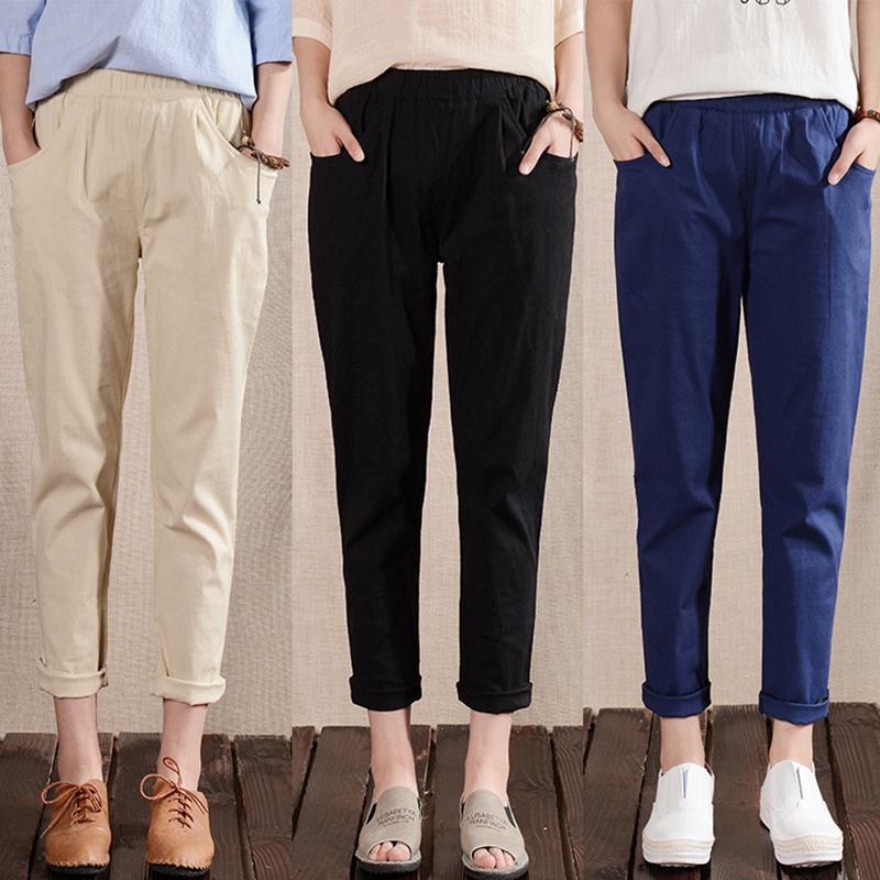 Compare Prices on Ladies' Linen Pants- Online Shopping/Buy Low ...