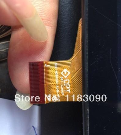 10pcs/lot 100% orginal new test well 7 tablet handwriting screen touch screen capacitance screen 300-n3803k-a00-v1 . 0(China (Mainland))