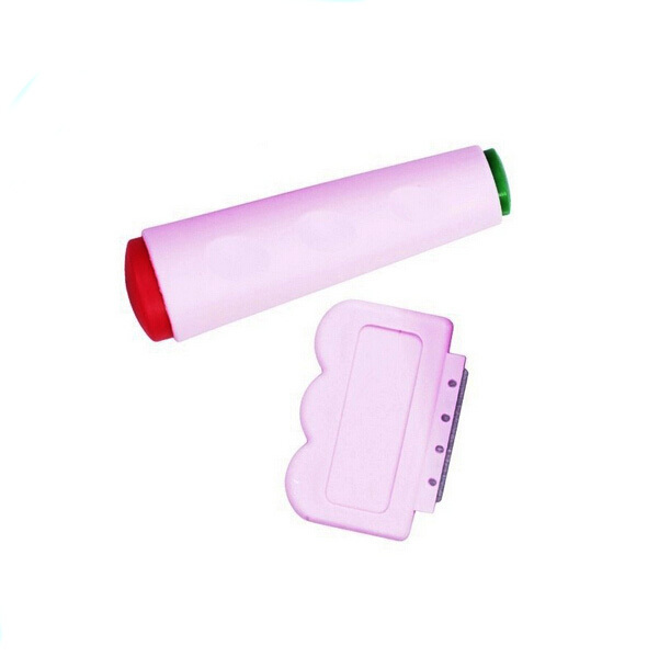 Free Shipping Nail Art DIY 2 Side nail Stamping Stamp Tools Scraping Knife Set Nail Stamp Kit Na4002(China (Mainland))