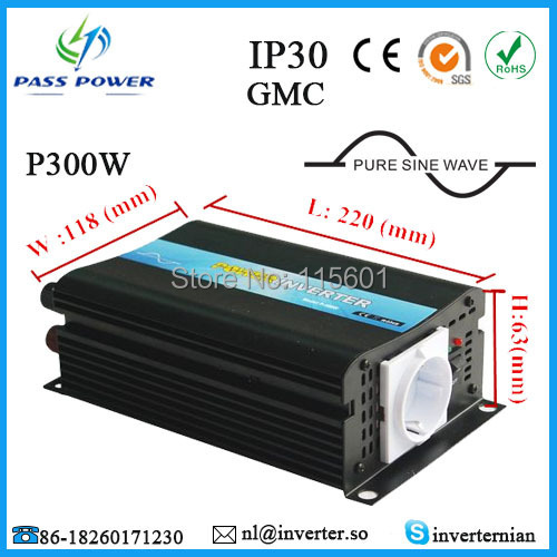 Factory Selling, CE&ROHS&SGS approved, car inverter, pure sine wave power inverter 12v 220v 300w