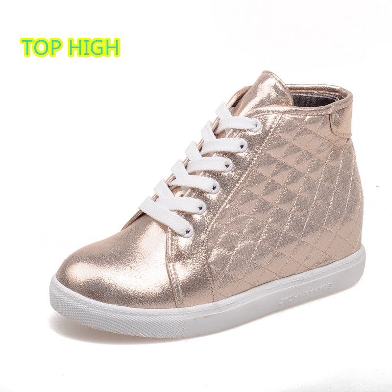 Celebrity Favorite Golden Flats Ankle Riding Boots 2016 Spring Hot Sale Plaid Leisure Walk Shopping Work Women Shoes Botas Mujer(China (Mainland))