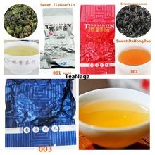 7 kinds sweet oolong tea milk chinese tea dahongpao tikuanyin fruit sweet Oolong tea tieguanyin 100g