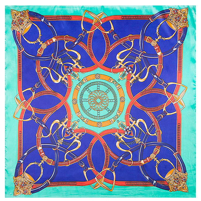 New Arrival Women Printed Scarf Mai Tong silk 60cm*60cm new chain stitching Ms. silk scarves scarf small occupation(China (Mainland))