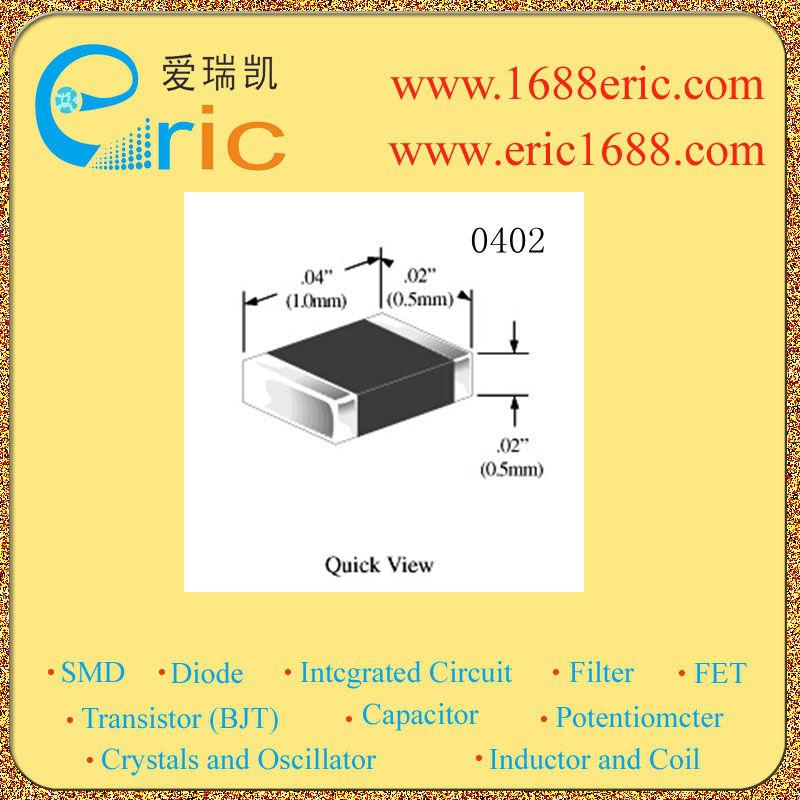 10 stuks smd weerstand 4,7 ohm 4,7 ohm 1 % 1/16w 0402 4r70 markering(China (Mainland))