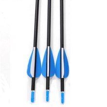 80cm 6pcs lot Carbon Arrow 6mm Archery Arrow Spine 800 Carbon Outdoor Hunting Arrows With Steel