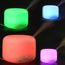 2,4 mhz ultraschall 500ml 9 leds 7 bunte licht Ölwechsel aroma diffuser mit einstellbar spritzen Richtung(China (Mainland))