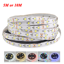 5M or 10M /Pack 2835 SMD Flexible LED Strip light High Luminous flux more than 3528 5050 SMD 12V 60 LEDs/M Home Decoration Lamp(China (Mainland))