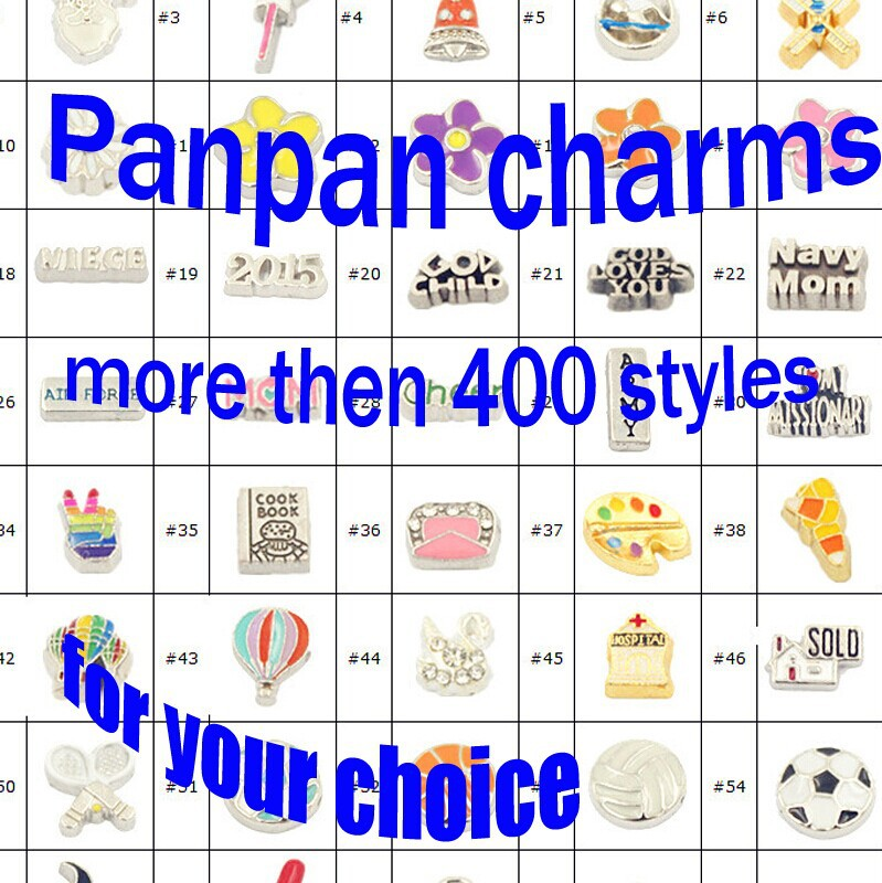 Panpan 100pcs/lot High quality can choose charms wholesale floating charm metal charms for glass locket charm free shipping(China (Mainland))