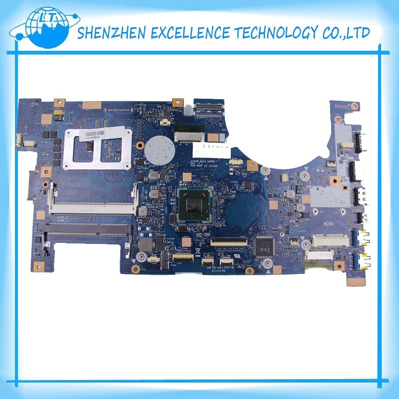 Новый для Asus G75 G75V G75VW ноутбук материнская плата с rev:2.1 N2VMB1703 памяти DDR3 3Д разъем проверено работает идеально