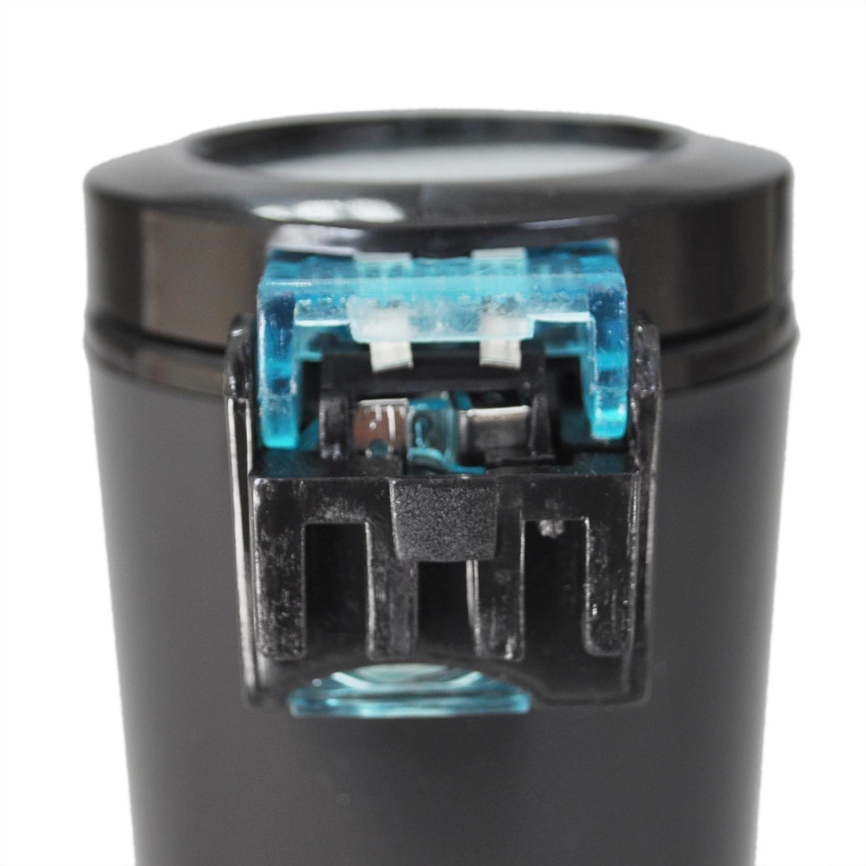 Portable Car Auto LED Light Smokeless Ashtray Cigarette Holder Case Good Gift UK(China (Mainland))