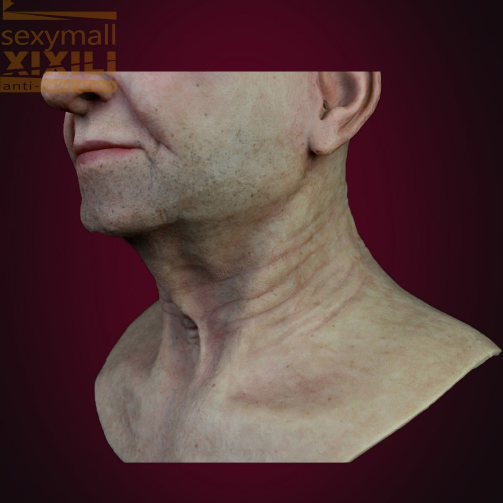 NSF-N4 2015 NEW!  realistic silicone mask men face mask of high quality Halloween full head mask