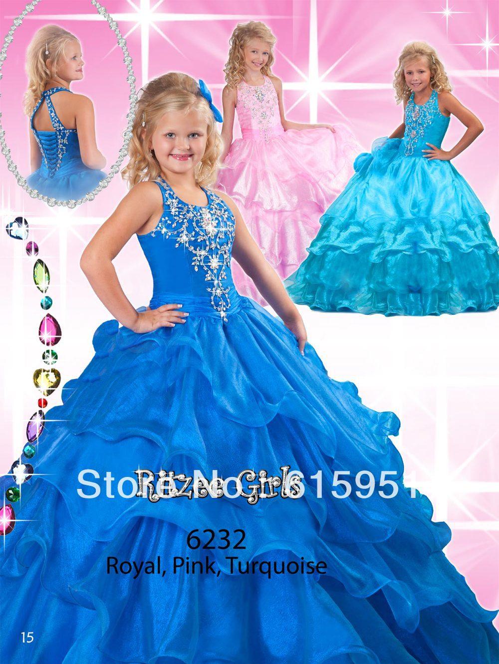 Pink Marie Flower Girl Dresses
