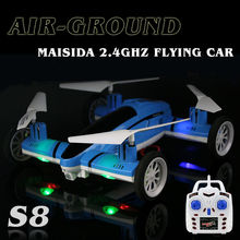 Dwi Dowellin MAISIDA S8 RC Car Remote Control Flying Car RC Drone Air Ground Quadcopter Best Gift for Children Toys