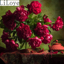 Buy Li Loye Red rose 5D Diamond Embroidery DIY Needlework Diamond Painting Cross Stitch Pattern Full Rhinestone Decor Painting JK537 for $6.29 in AliExpress store