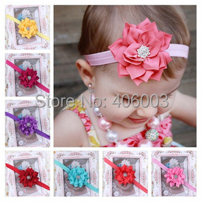 Free Shipping Kids Of Girls Headbands With Flower Baby Girls Toddler Headwear Children Hair Band<br><br>Aliexpress