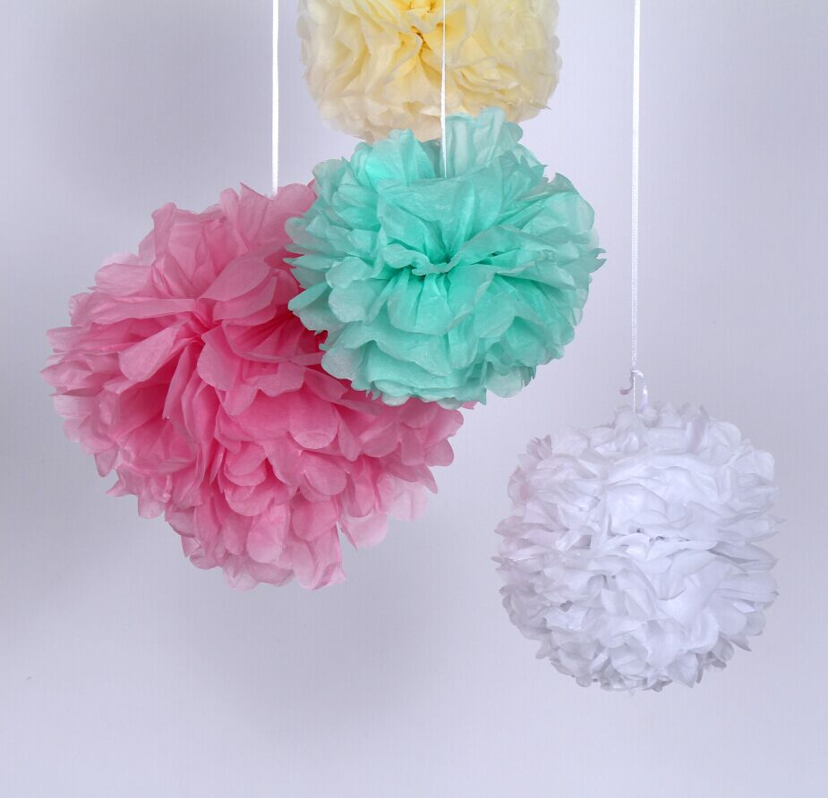 buy 12inch 30cm tissue paper pom poms. Black Bedroom Furniture Sets. Home Design Ideas