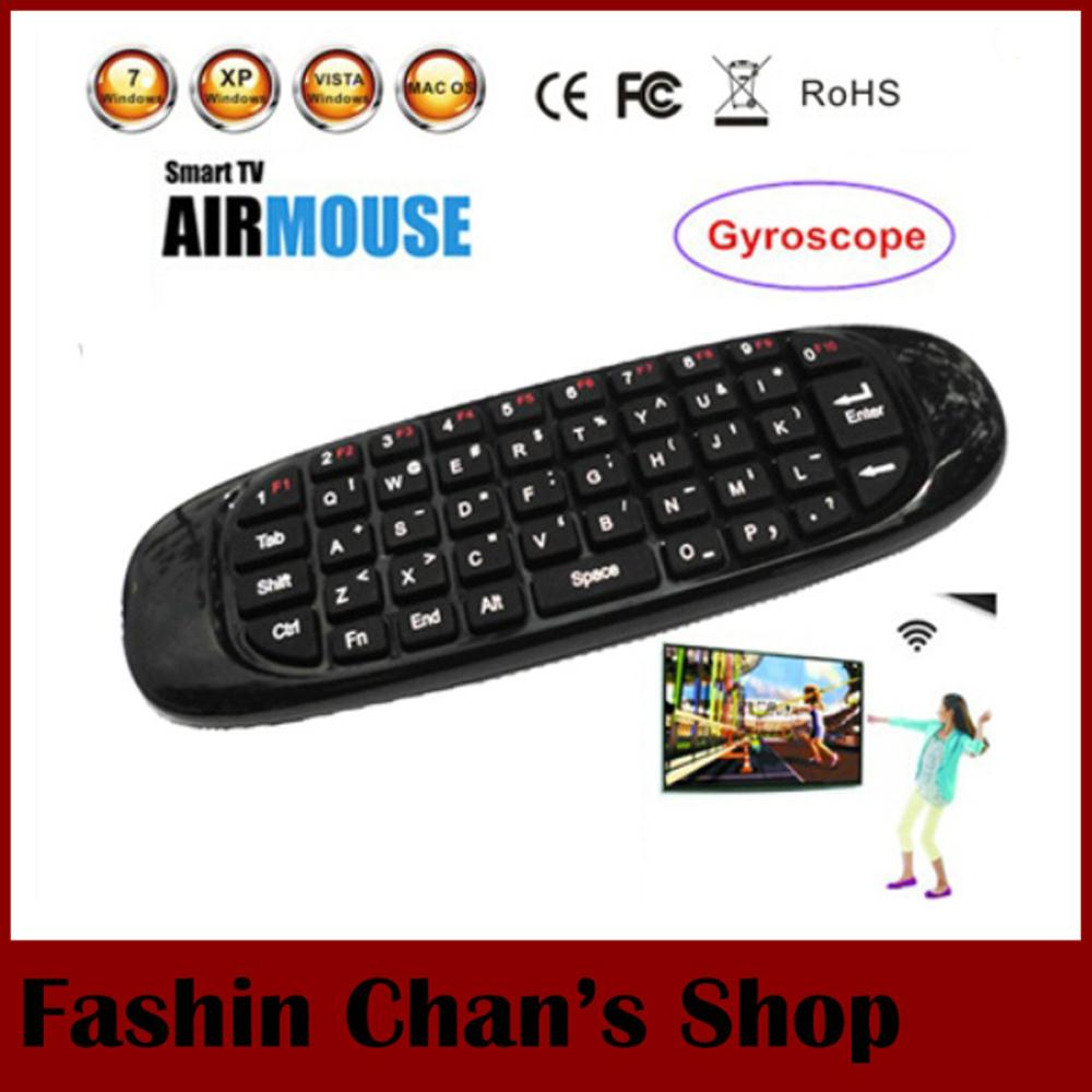 C120 2.4Ghz Wireless mini USB Air Mouse Keyboard Gyroscope Remote Control PC/Smart TV/Android TV Box/TV Dongle,Drop Shipping - Fashion Chan's Shopping Mall store