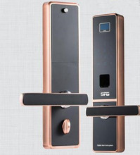 Security Digital Fingerprint Keyless LCD Burglarproof Password Door Lock (China (Mainland))