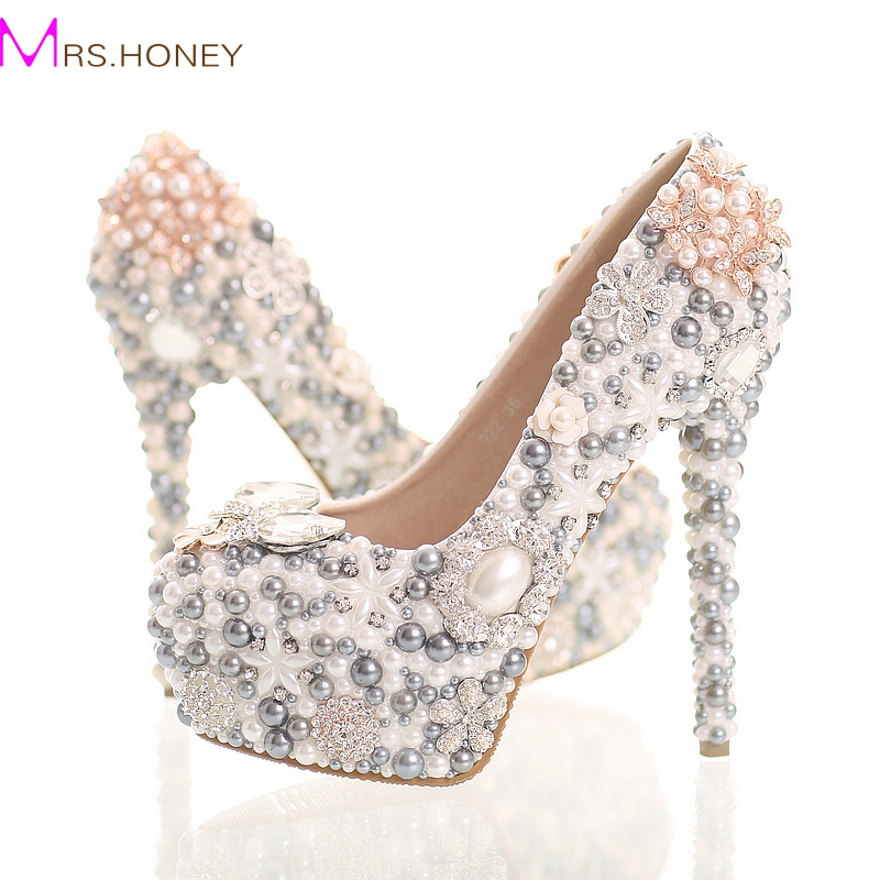 Popular Grey Wedding Shoes Buy Cheap Grey Wedding Shoes Lots From China Grey