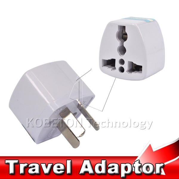 New Power Adapter Travel Adaptor 3 pin AU Converter to US/UK/EU Universal AU Plug Charger For Australia New Zealand(China (Mainland))
