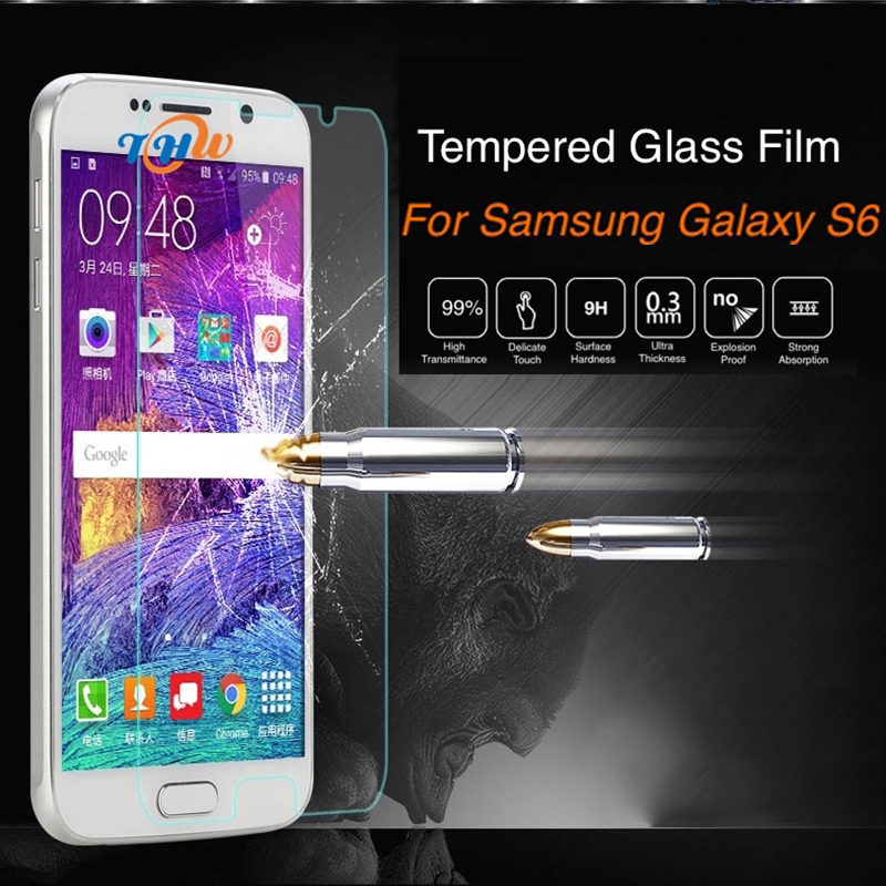 50pcs Screen Protector For Samsung Samsung Galaxy S3 mini i8190 Premium Tempered Glass Smooth Toughened Protective Film GH020