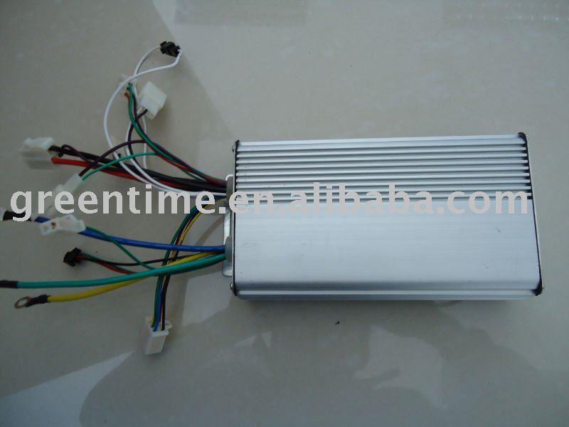 24V 500W Brushless DC Motor Controller 12 mosfets works with both sensored and sensorless brushless motor(China (Mainland))