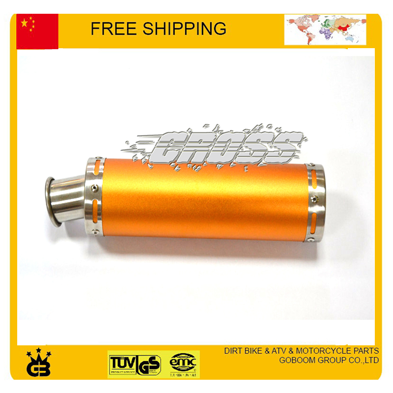 motorcycle exhaust Pipe tubo escape moto escapamento de moto dirt bike atv quad 110cc font b