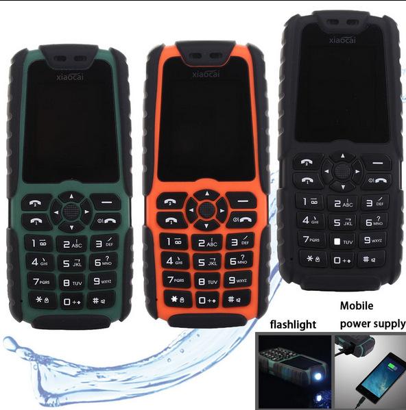 Водонепроницаемые противоударные телефоны