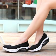 AAKT 2016 Spring Summer Women Platform Shoes Women Breathable Air Mesh Jogging Shoes Fashion Casual Sandals