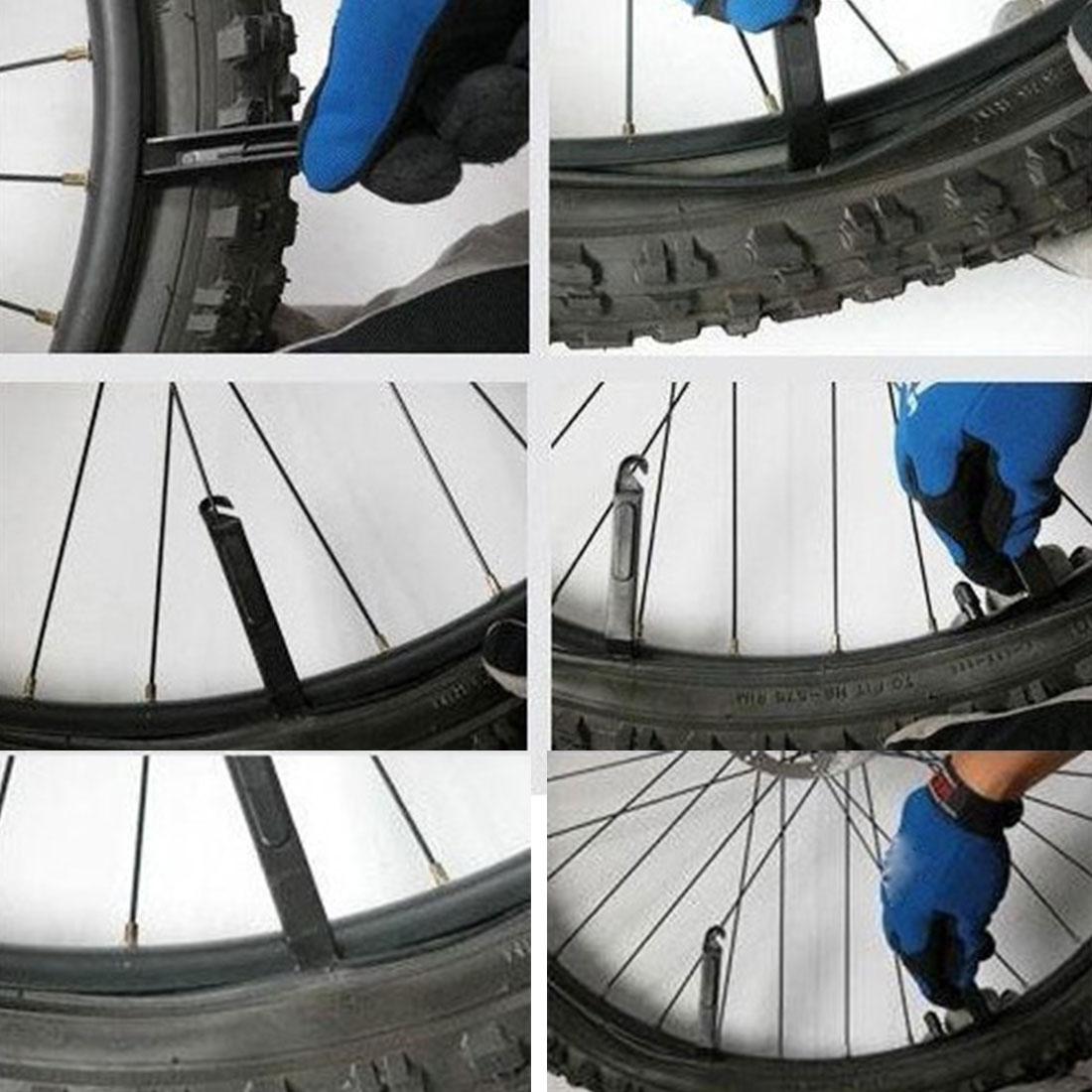 3pcs//Set 11cm Black Bicycle Nylon Tire Lever Bike Crowbar Repair Change Tools