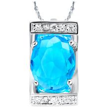 2016 Fashion luxury brand Crystal Pendants Necklaces  Austrian Rhinestone Necklaces For Women Jewellery(China (Mainland))