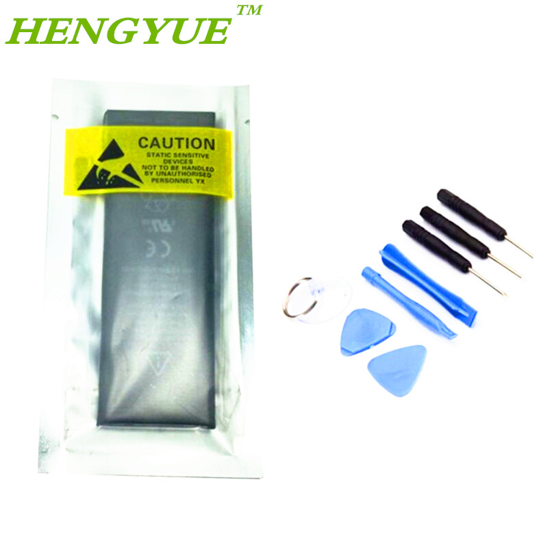 Brand HENGYUE New 1440mAh for iPhone 5 Replacement Inner built-in Li-ion Battery with 8 pcs Tools Kit(China (Mainland))