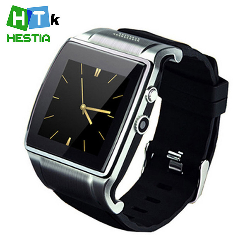 2015 Smart Watch Wrist Waterproof Hi Watch 2 With 2.0MP Camera Bluetooth Dial/Music/FM/Video/Remote Support SIM Card and TF Card(China (Mainland))