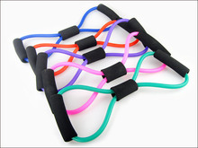 1PC Resistance Bands Tube Workout Exercise for Yoga 8 Type Sport Bands Drop shipping For Sport person Cai0063