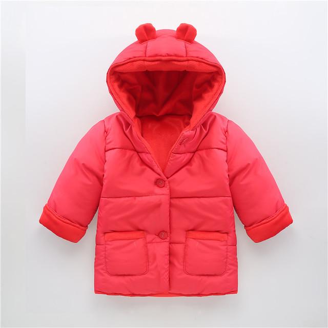 V-TREE Хлопок снег износ пальто мальчики девочки зима snowsuit вниз ребенка детский зимний комбинезон плюс толстый бархат младенческой снег куртка теплая одежда