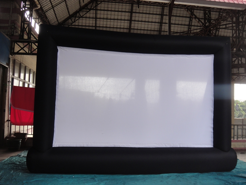 7*4m Giant Inflatable Movie Screen, Outdoor Inflatable Screen With Blower(China (Mainland))