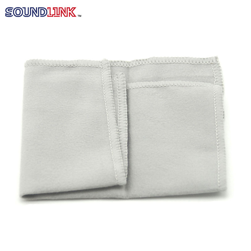 Hearing Aids Soft Cleaning Cloth Towel Cleaner Wipe Off Dust from Hearing Aid 80% terylene 20% chinlon(China (Mainland))