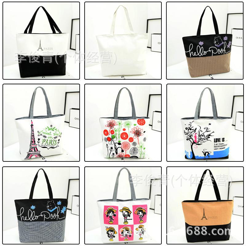 Women Big Bags Fashion 2015 Designers Casual Canvas Beach Bag Women Handbags High Quality(China (Mainland))