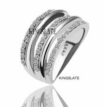 R068 Wholesale! High Quality,Nickle Free Antiallergic New Fashion Jewelry 18K Real Gold Plated Ring For Women, Free Shipping,(China (Mainland))