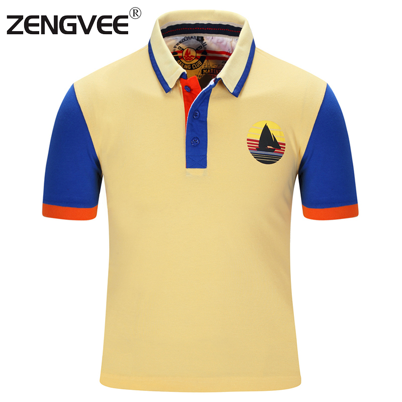 Fashion Design Men New Polo Shirt Summer Style Short Sleeve Cotton Breathable Western Style Polo Europe and America Size(China (Mainland))