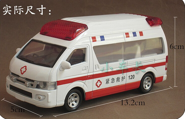 2015 Alloy Ambulance Toy 120 Ambulance Brinquedos Toys For Kids Alloy Car Kids Toys For Children Automotivo Patrol Wagon(China (Mainland))