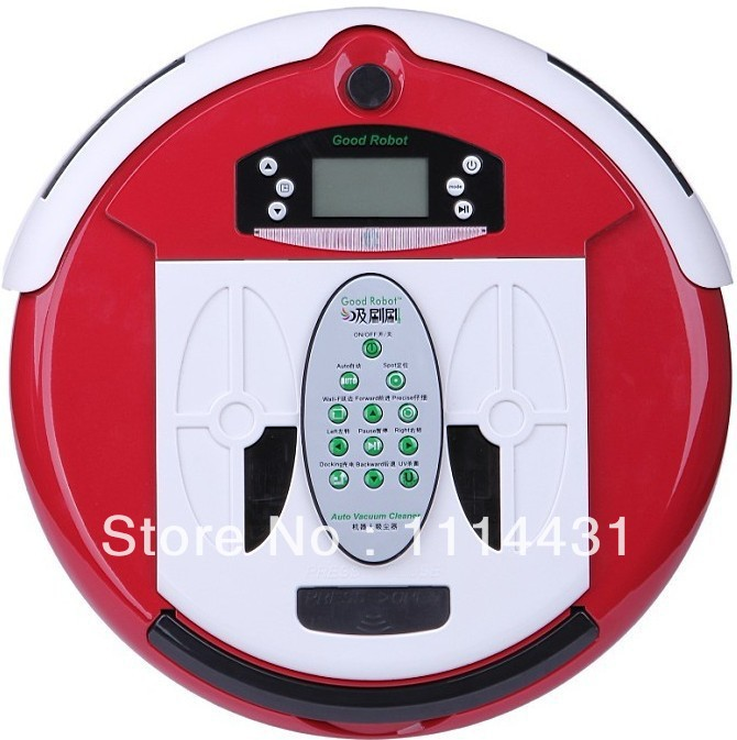 (Free to Russia)Robot Vacuum Cleaner 4 In 1 Multifunctional Auto Sweep Vacuum Mop Sterilize With Virtual Wall and Self Charge(China (Mainland))