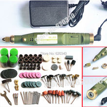 FreeShipping Mini electric drill+ 161pcs grinding accessories + adapter Multifunction Engraving machine Electric tool set kit