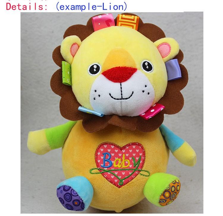 Child Toys For Kids Puzzle Brinquedos Matlyoshka Tumbler Doll Child Rattle Reward Cute Animal Child Toys Zero-12 Months-BYC111 P49